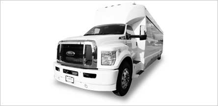20 Passenger Party Bus Sacramento Exterior