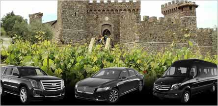 Napa Valley Wine Tours Sacramento Limo Service