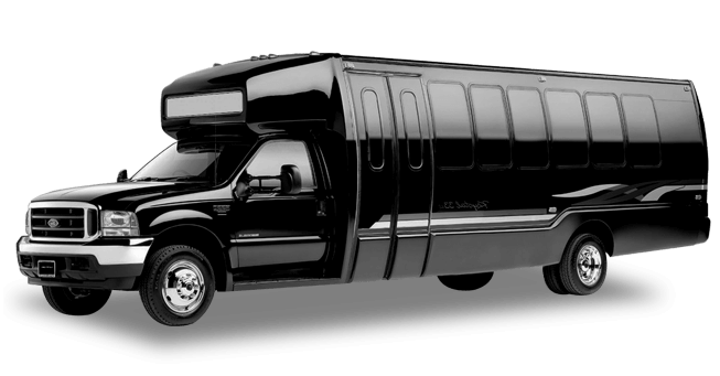 Sacramento 28 Passenger Party Bus Exterior