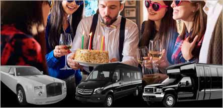 Sacramento Birthday Party Limo Rentals