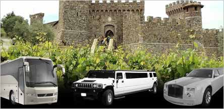Sacramento Napa Valley Wine Tours Limo Service