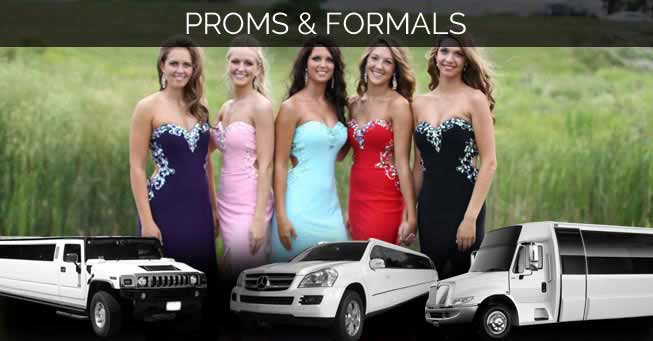 Sacramento Proms Formals Limo & Party Bus Rentals